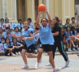 กีฬาเชื่อมความสัมพันธ์ในโรงเรียนอัครสังมณฑลกรุงเทพฯเขต1